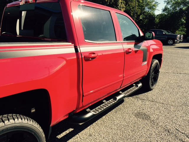 """5/""""Black Oval Side Step Bar//Running Board for 99-16 Ford SuperDuty Ext//Super Cab"""