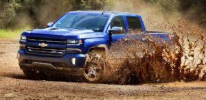 2018 Chevrolet Silverado color blue