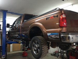Pickup Truck Synthetic Oil Change