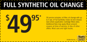 How much is a pickup trucks synthetic oil change